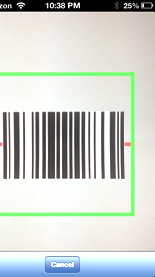 Mobile Form - Scan Barcode